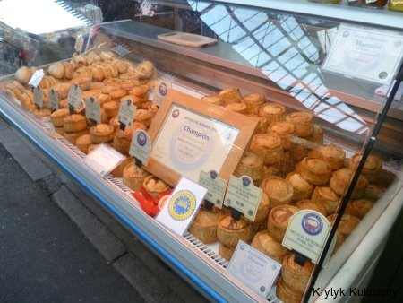 Borough market - paje mięsne