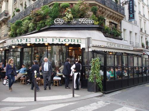 Francja - kawiarnie