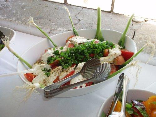 Śniadanie prasowe - pomidory na śniadanie