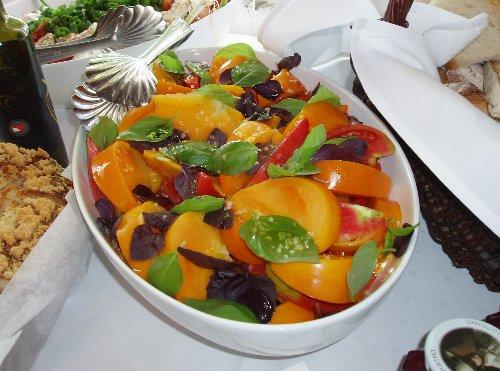 Śniadanie prasowe - pomidory