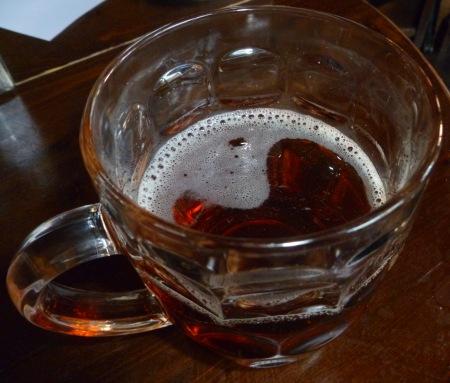 Piwo w londyńskim pubie
