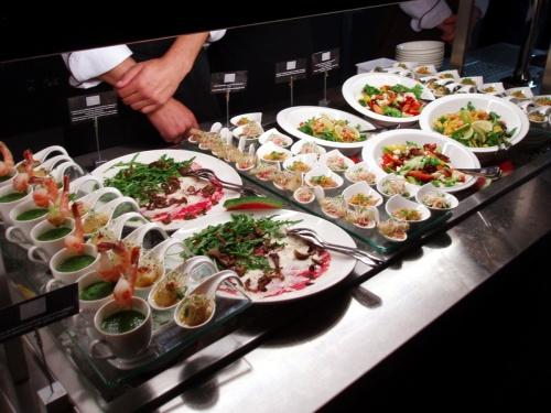 Restauracja Cucina - otwarcie - stół