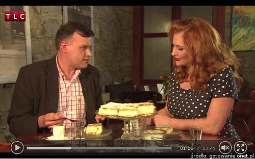 Krytyk kulinarny - Artur Michna rozmowa o kremówkach z Martą Grycan