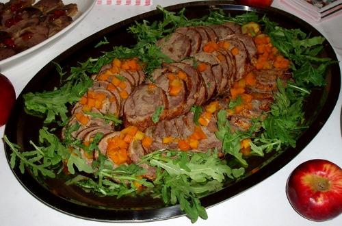 Gęganie, weganie i poganie - rolada z gęsi z marynowaną dynią