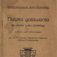 Pierwsza strona książki z przepisami Kulerskiego