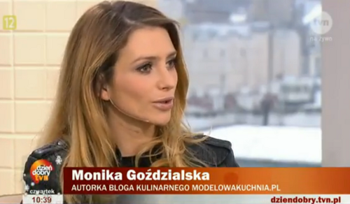 Kultowe blogi kulinarne - Monika Goździalska w DDTVN