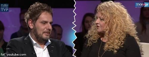 Magda Gessler i Wojciech Modest Amaro u Tomasza Lisa