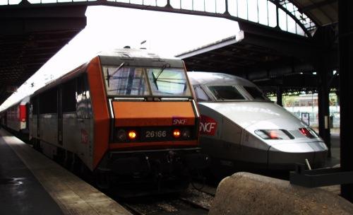 Stacja kolejowa - Paryż