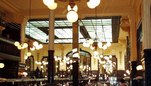 Podróż soczysta berlińsko-paryska - Le Bouillon Chartier - wnętrze