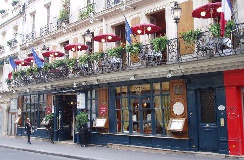 Podróz soczysta berlinsko-paryska - Le Procope na zewnątrz