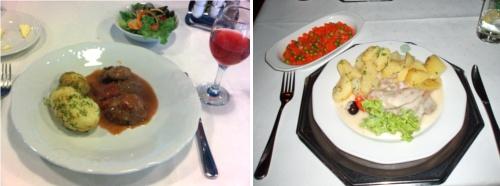 Klasycznie skomponowane talerze (U Kucharzy i Gromada)