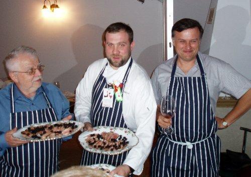 Krytyk Kulinarny Artur Michna i Artur Moroz