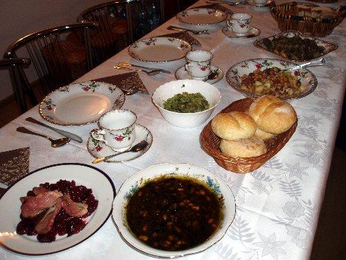 Dania z gęsi przygotowane przez Artura Moroza