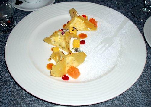 Pierożki z ananasa