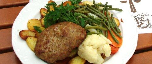 Aranżacja talerza - styl niemiecki
