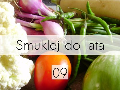 Smuklej do lata - 9. warzywa