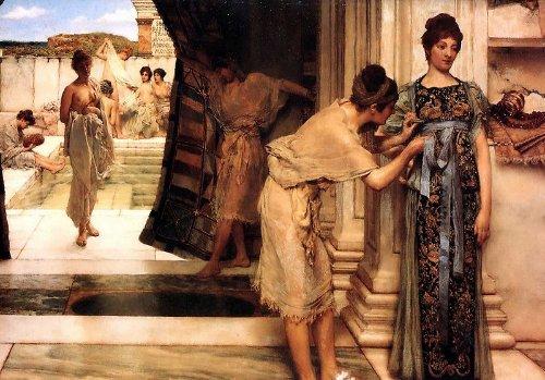 Lawrence Alma-Tadema - Frigidarium