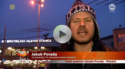 Jakub Porada we Wiedniu