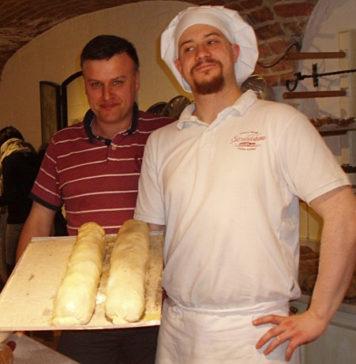 Krytyk Kulinarny Artur Michna z cukiernikiem