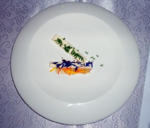 Luiza Trinso - danie z sera korycińskiego