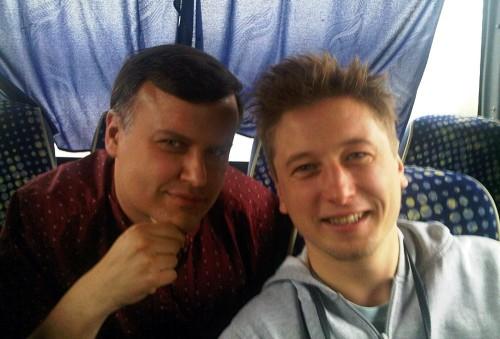 Grzegorz Łapanowski i Artur Michna