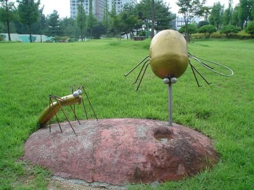 Komar i kleszcz