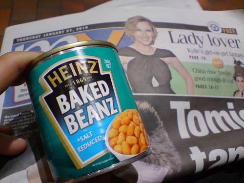 Baked beans / fot. avlxyz