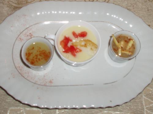Zupa ziemniaczana z dorszem