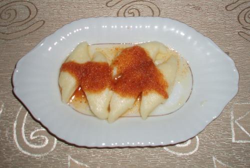 Leniwe z masłem i bułką tartą