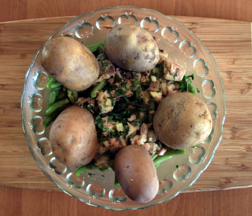 Sałatka z ziemniakami