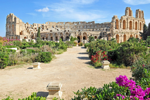 Tunezja - Amfiteatr w Al-Dżamm / fot. Dennis Jarvis