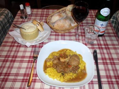 Risotto alla Milanese - Taverna Moriggi