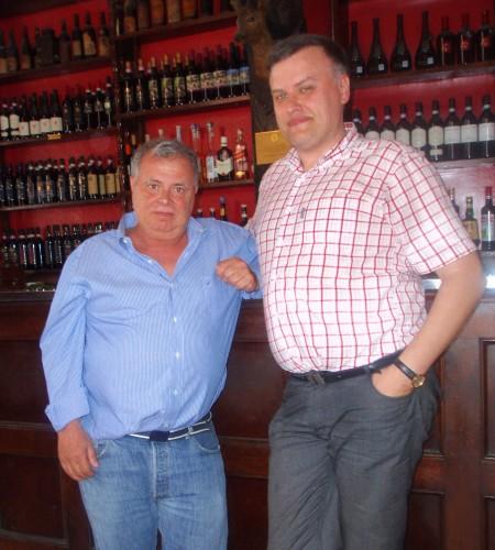 Krytyk Kulinarny Artur Michna i właściciel Taverny Moriggi