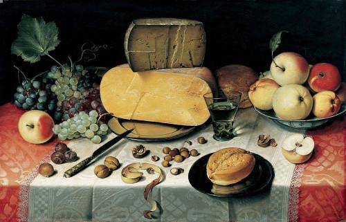Floris van Dijck, Martwa natura (1613)