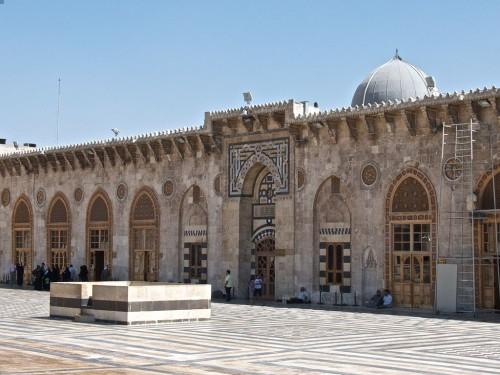 Meczet w Aleppo, Syria, fot. Fede Renghino