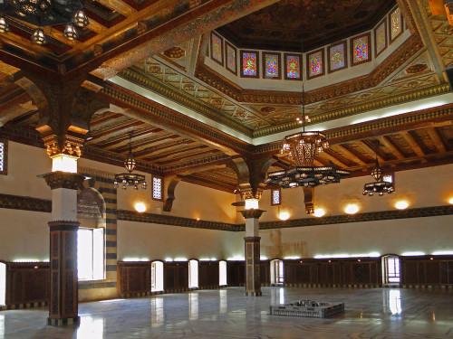 Sala tronowa w Cytadeli w Aleppo, fot. Bernard Gagnon