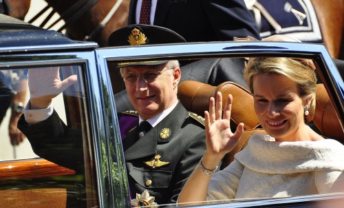 Król Belgów Filip i Królowa Matylda fot. Michael Thaidigsmann