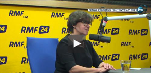 Minister wynegocjowała drożdżówki / wideo: Kontrwywiad RMF FM