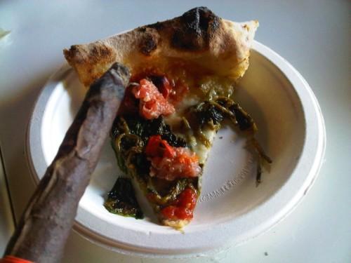 Pizza i cygaro toskańskie