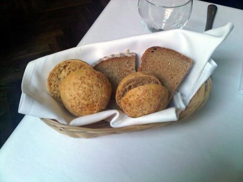Pieczywo w Restauracji we Francuskim