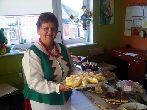 Krystyna Gierszewska, organizatorka Sympozjum Kulinarnego