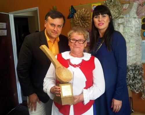 Zwyciężczyni - Krystyna Dąbrowska Krytyk Kulinarny Artur Michna i Kinga Gawrońska