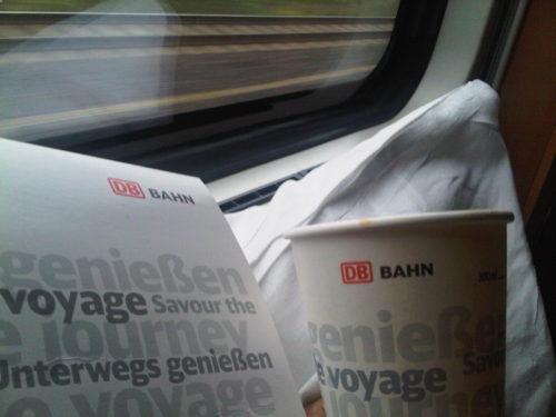 Zurych-Berlin, DB Frühstück packett