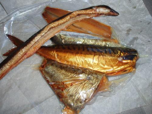 Wędzone bałtyckie ryby