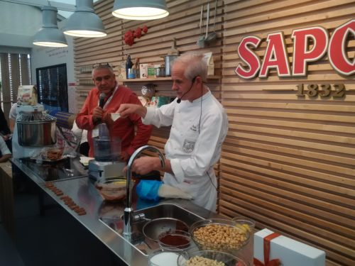 mistrz cukiernictwa Paolo Sacchetti