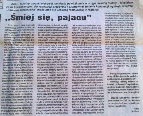 """Recenzja """"Karczmy Kociewskiej"""""""