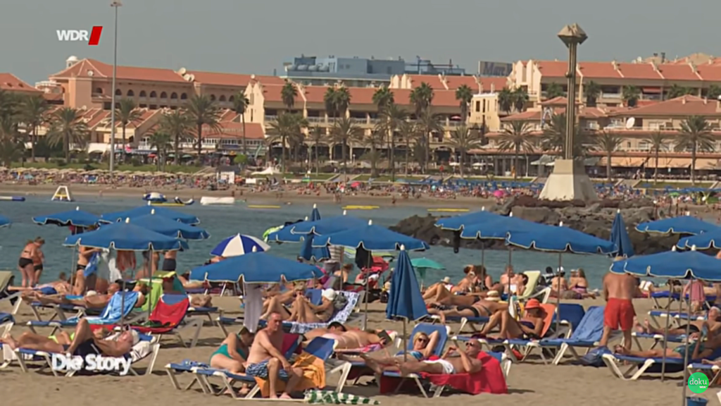 kadr z filmu: Die Kanaren Inseln der Arbeitslosen