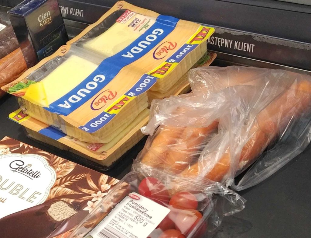 Czy na pewno potrzebujesz dwóch kilogramów sera w plastrach?