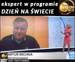 Artur Michna: Ekspert w programie TVN24BiŚ - Dzień na świecie