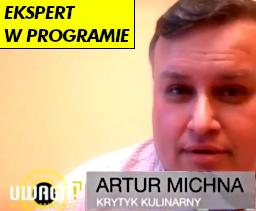 Artur Michna: Ekspert w programie UWAGA KORONAWIRUS